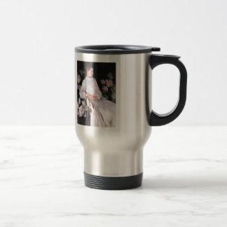 John Sargent- Portrait of Katharine Shapleigh 15 Oz Stainless Steel Travel Mug