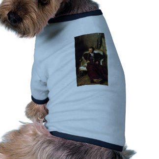 John Sargent- Portrait of Mrs Alice Thursby Dog Clothing