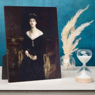 John Sargent- Portrait of Mrs Ernest G Raphael Photo Plaques