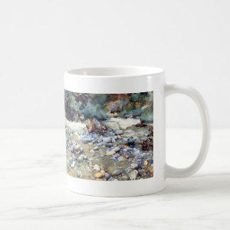 John Sargent- Purtud, Bed of a Glacier Torrent Classic White Coffee Mug