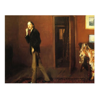 John Sargent- Robert Louis Stevenson and his wife Postcard