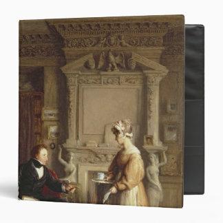 John Sheepshanks and his maid 3 Ring Binder