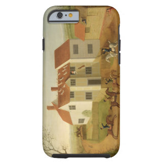 John Sidey and his Hounds at a Farmhouse near Hadl Tough iPhone 6 Case
