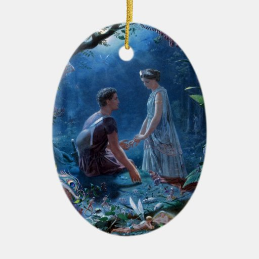 John Simmons: A Midsummer Night's Dream Christmas Tree Ornament