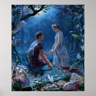 John Simmons: A Midsummer Night's Dream Poster