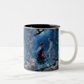 John Simmons: A Midsummer Night's Dream Two-Tone Coffee Mug