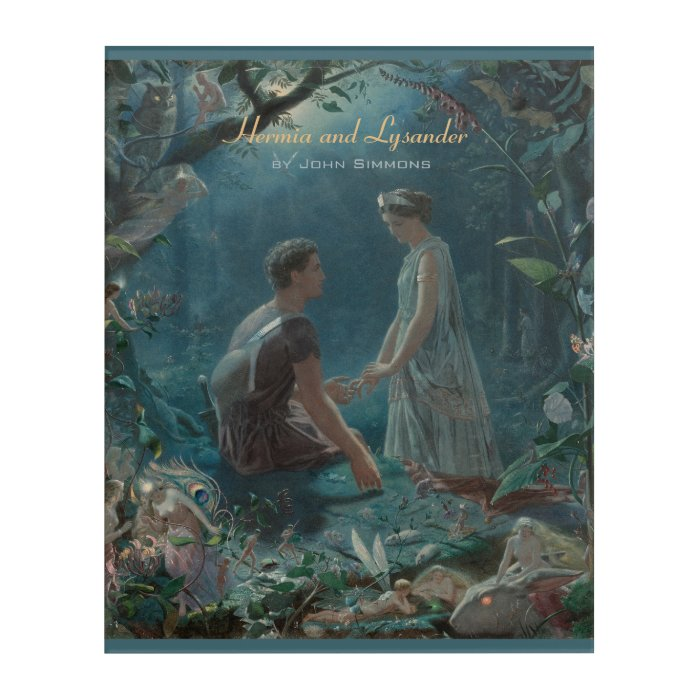 John Simmons Hermia and Lysander Midsummer CC0855 Acrylic Wall Art