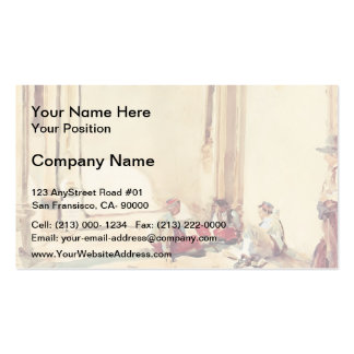 John Singer Sargent- A Spanish Barracks Double-Sided Standard Business Cards (Pack Of 100)