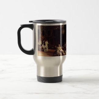 John Singer Sargent- An Interior in Venice 15 Oz Stainless Steel Travel Mug