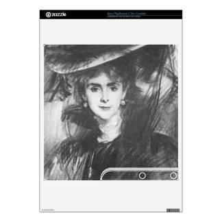 John Singer Sargent - Baroness de Meyer PS3 Slim Console Decals