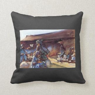 John Singer Sargent- Black Tent Pillows