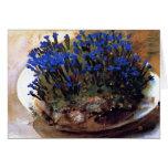 John Singer Sargent- Blue Gentians Cards
