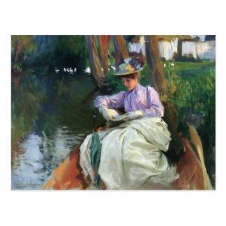John Singer Sargent- By the River Postcard