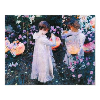 John Singer Sargent Carnation Lily Lily Rose Card