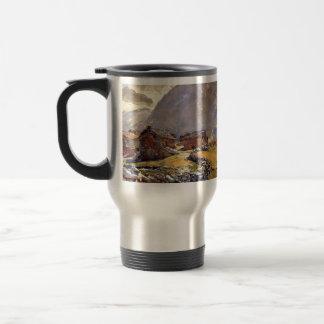 John Singer Sargent: Chalets del paso de Simplon Tazas De Café
