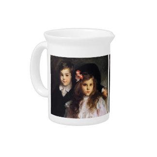 John Singer Sargent- Conrad and Reine Ormand Drink Pitchers