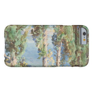 John Singer Sargent - Corfu - Cypresses Barely There iPhone 6 Case