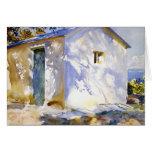 John Singer Sargent- Corfu: Lights and Shadows Greeting Cards