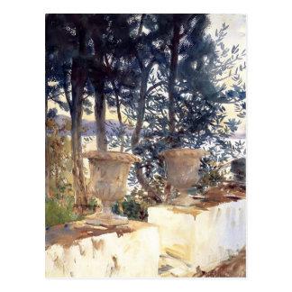 John Singer Sargent: Corfu The Terrace Postcard