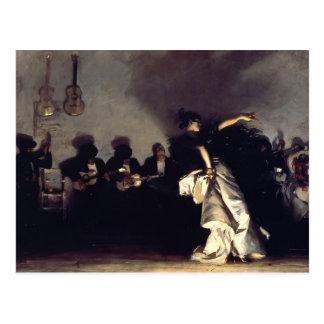 John Singer Sargent- El Jaleo Postcard