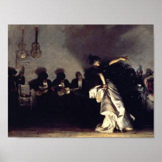John Singer Sargent- El Jaleo Poster