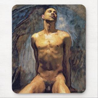John Singer Sargent - estudio masculino Alfombrillas De Ratón