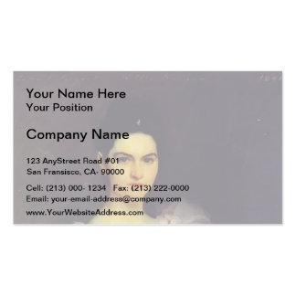 John Singer Sargent- Etta Dunham Double-Sided Standard Business Cards (Pack Of 100)