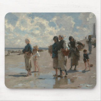 John Singer Sargent - Fishing for Oysters Mouse Pad