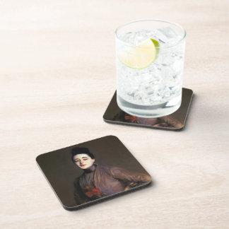 John Singer Sargent- Flora Priestley Beverage Coasters