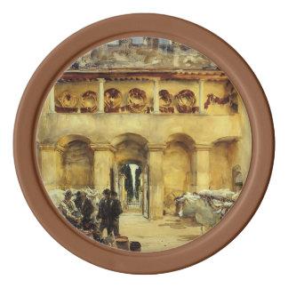 John Singer Sargent- Florence. Torre Galli Poker Chip Set