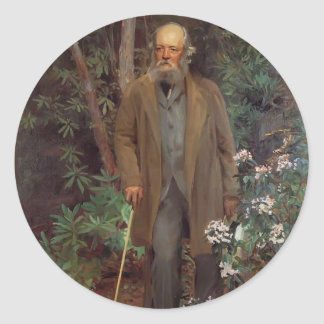 John Singer Sargent- Frederick Law Olmsted Classic Round Sticker