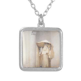 John Singer Sargent- Fumee d'Ambre Gris Silver Plated Necklace