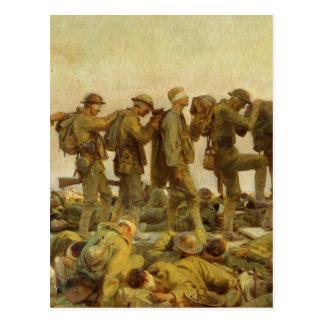 John Singer Sargent - Gassed Postcard