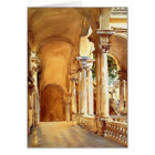 John Singer Sargent: Genoa, the University Card