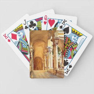 John Singer Sargent: Genoa, the University Card Decks