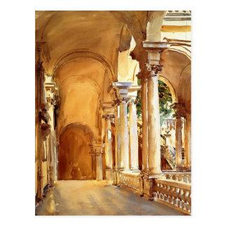 John Singer Sargent: Genoa, the University Postcard