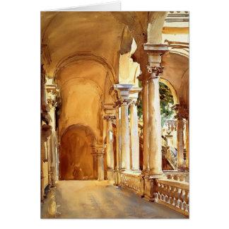 John Singer Sargent: Génova, la universidad Felicitaciones