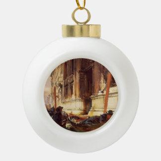 John Singer Sargent- Gondoliers's-Siesta Ornaments