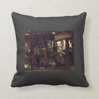 John Singer Sargent- Granada. The Weavers Throw Pillows