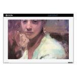 """John Singer Sargent - Head of a Capri Girl Skin For 17"""" Laptop"""