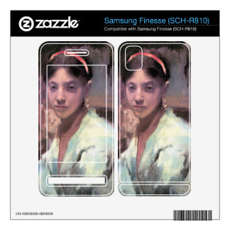 John Singer Sargent - Head of a Capri Girl Samsung Finesse Decal