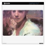 """John Singer Sargent - Head of a Capri Girl 11"""" MacBook Air Decal"""
