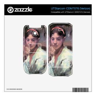 John Singer Sargent - Head of a Capri Girl UTStarcom Phone Decals