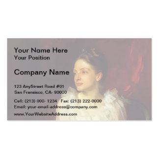 John Singer Sargent- Helen Dunham Double-Sided Standard Business Cards (Pack Of 100)