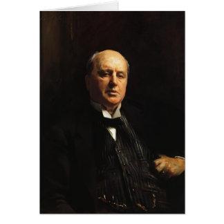 John Singer Sargent- Henry James Greeting Card