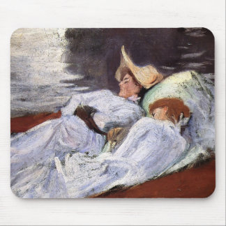John Singer Sargent- In a Punt Mouse Pad