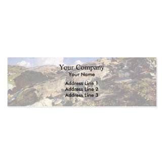John Singer Sargent- In the Alps Business Card Templates