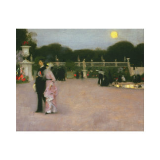 John Singer Sargent - In the Luxembourg Gardens Canvas Print
