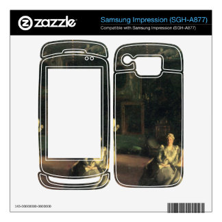 John Singer Sargent - Interior in Venice Samsung Impression Skin