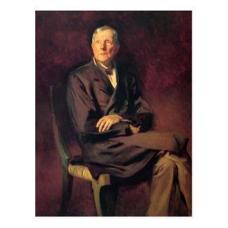 John Singer Sargent- John D. Rockefeller Post Card